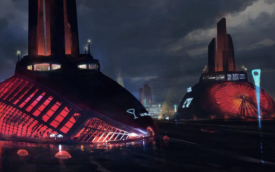 2050, Sci-fi environment