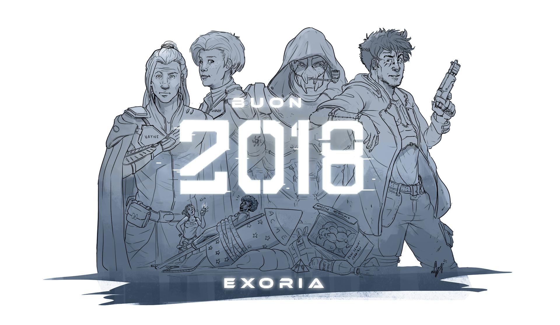 Exoria banner personaggi