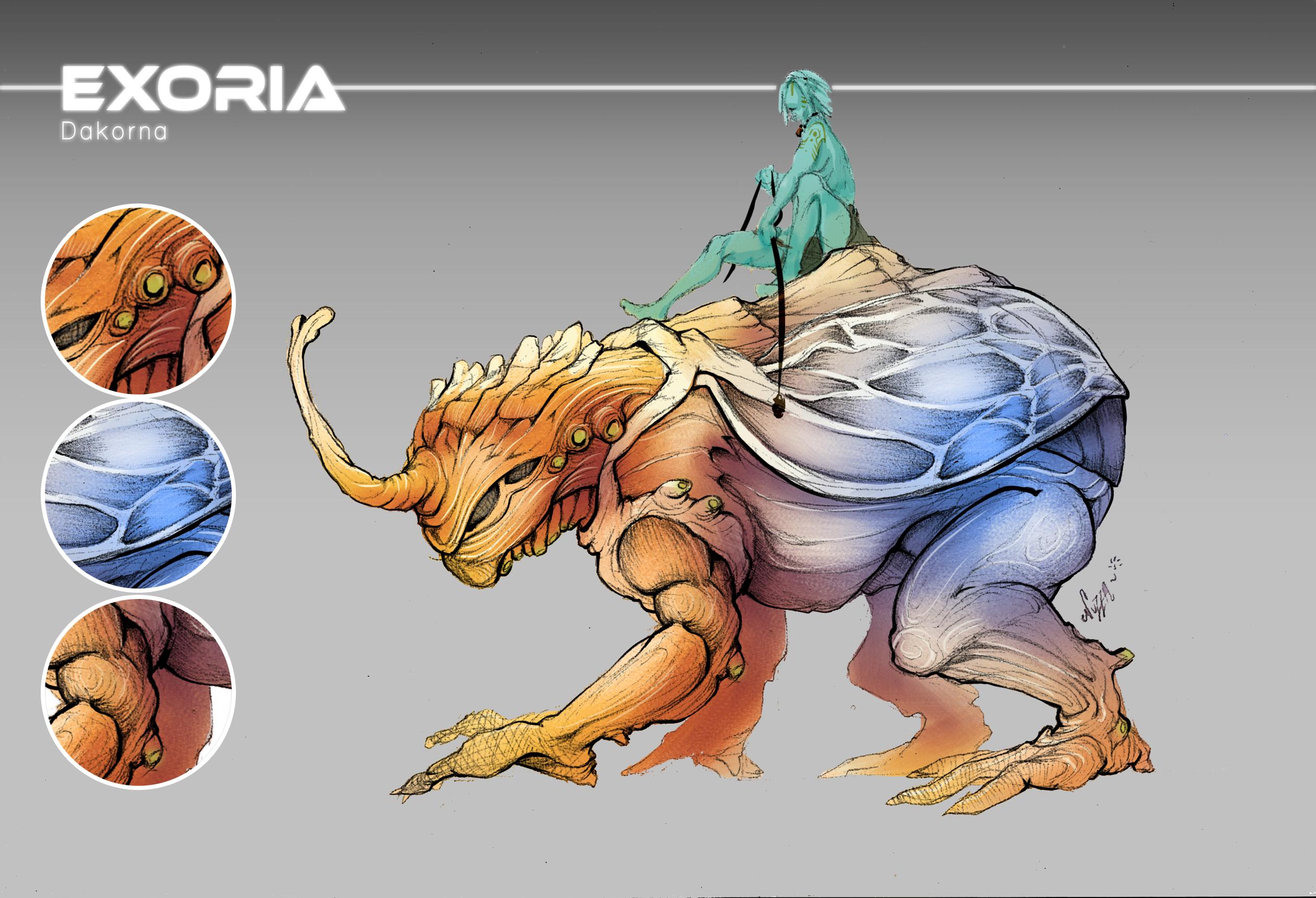 Exoria creature