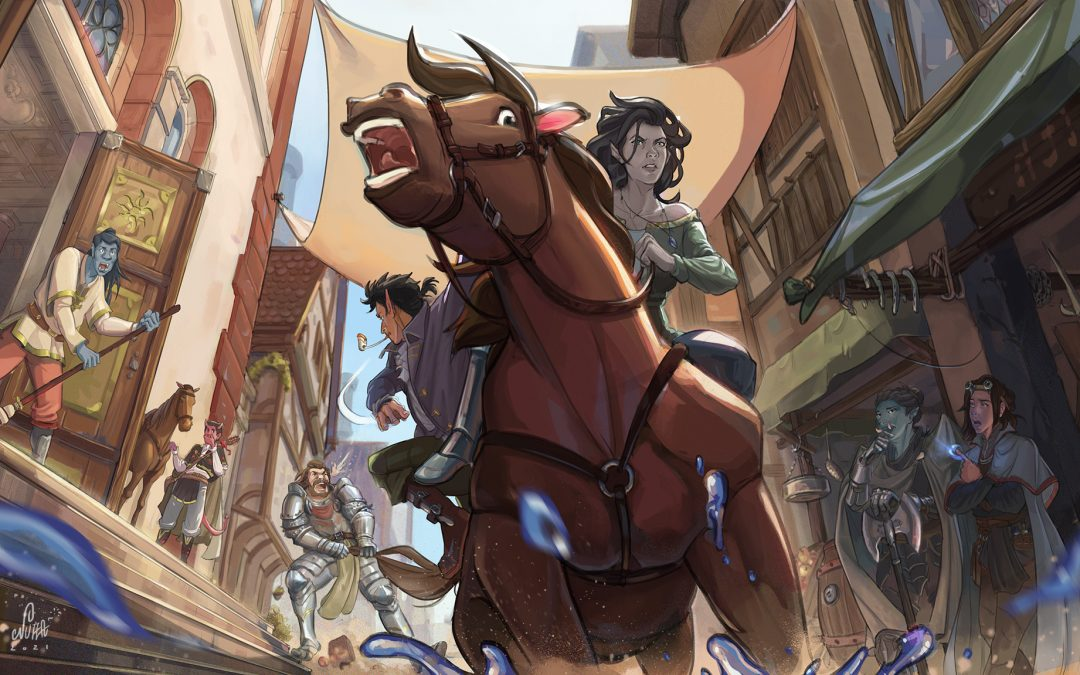 Fantasy RPG Art